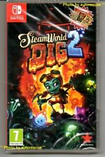 """Steamworld Dig 2 (inc. Double face Poster et plus...) """"NEW & SEALED' * Switch *"""