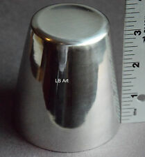 "New Mini/Small Stainless Steel Fused Glass Drape Floral Former Mold Mini 3"" Tall"