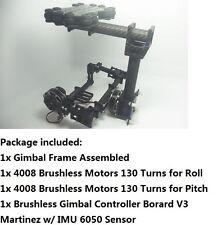Aerial Gimbal for Mirrorless Camera SLR Sony 5N w/ 2 Motors + Controller BGC2.0