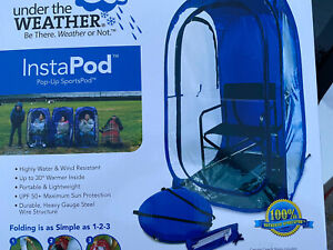Under the Weather - InstaPod - Pop-Up Tent Shelter Shade Sports Camping Outdoor
