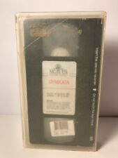 Gymkata VHS Big Box 1985 Kurt Thomas Martial Arts Gymnast Action Gymnastics RARE