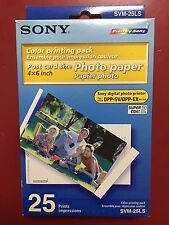 SONY SVM-25LS Color Printing Pack Paper 25pack BOXED & NEW