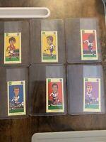 BP Team England 98 World Cup Cards Lot of 6 Scholes Beckham Neville Cole