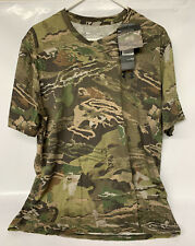 UNDER ARMOUR MENS EARLY SEASON KIT  FOREST CAMO TEE SHIRT L