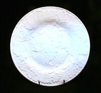 "Bordallo Pinheiro PARRAS/VINE WHITE Dinner Plate(s) 10 1/8"" EXCELLENT"