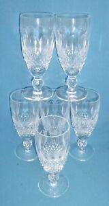 Waterford Crystal Colleen Champagne Flutes x 6