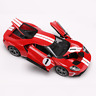 Maisto 2017 Ford GT 1:18 Model Concept Diecast Model Sports Racing Red Car Boxed