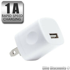 100 x Wholesale HQ USB Wall Power Fast Charger Adapters Universal 5W - 1AMP