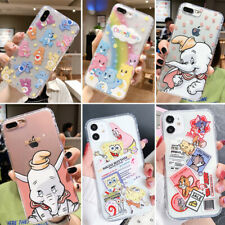Cute Cartoon Soft Care Bear Phone Case Cover For iPhone 6 7 8 11 Pro XS Max XR