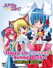 Anime DVD Hayate The Combat Butler! Sea.1-4 (Vol.1-102 End + Movie) English Sub