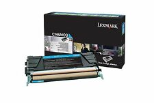 Lexmark Toner C746A1CG, C746A3CG, C746A6CG, cyan, C746 / C748