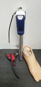 Otto Bock 3R93 Prosthetic Knee Freedom Innovations WalkTek  Foot Size 28mm LEFT