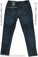 New Womens Marks and Spencer Blue Boyfriend Jeans Size 14 DEFECT