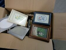 PICTURE FRAMES WITH GLASS JOB LOT FIFTEEN IN TOTAL