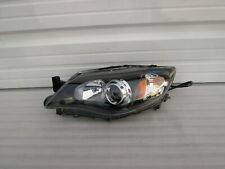 2008-2014 Subaru Impreza WRX STI Left Driver OEM Black Halogen Headlight Lamp