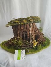 Celebrate it, Tiny Treasures Woodland Fairy Tale Structure tree trunk house NWT