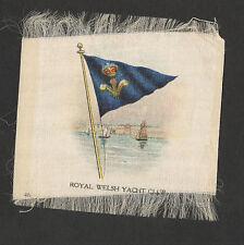 SILK -FLAG-ROYAL WELSH YACHT CLUB