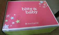 American Girl Bitty Baby DELUXE LAYETTE STARTER SET outfits pink suitcase bottle