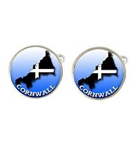 Cornwall Flag & Map Mens Cufflinks Ideal Birthday Fathers Day Gift C594