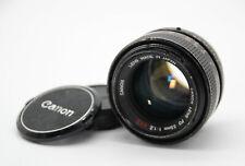 Canon FD 55 mm 1:1,2 S.S.C. Objektiv