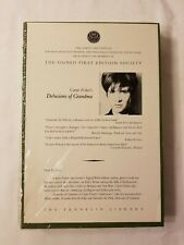 NEW SIGNED Franklin First Edition CARRIE FISHER Delusions of Grandma AUTOGRAPH