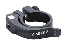 NOS BBB Bsp-87 Seat Post Clamp 31.8mm Smooth Lever Road MTB Bike Bicycle