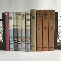 Lot Of 10 Bobbsey Twins Books Assorted Hardbacks At The Seashore County Camping