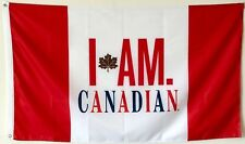 MOLSON CANADIAN BEER PROMO CANADA FLAG BANNER 3X5Feet