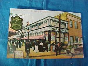 Early 20thc MORRISON THEATER POSTCARD in ROCKAWAY BEACH Long Island
