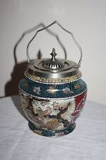 Antique Japanese Biscuit Barrel