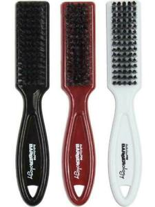 Babyliss Pro Barberology Clean Fade Barber Brush Black, Red & White NEW