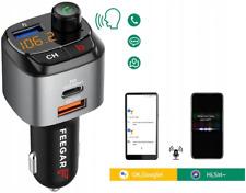 FEEGAR Q100 Auto-Transmiter Kit QC 3.0 Schnellladung Bluetooth