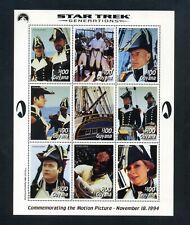 GUYANA 1994 Star Trek Generations film 3 sheetlets + Miniature sheet MNH (S*-10)