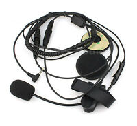Motorcycle Helmet Headset Earpiece YAESU FT-60R Vertex VX-3R VX-5R VX-160 Radios