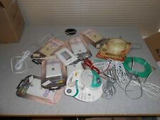 LOT OF PHONE HARDWARE CABLE ACCESSORIES TELEPHONE & MODULAR CORDS/WALL PLATES