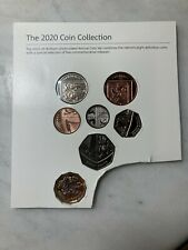 More details for royal mint 2020 1p 2p 5p 10p 20p 50p £1 taken from the 2020 annual bunc set