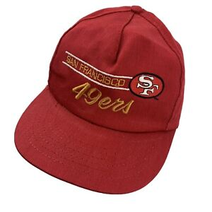 San Francisco 49ers American Needle Ball Cap Hat Snapback Made in USA