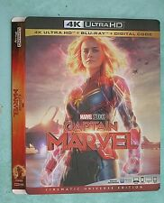 CAPTAIN MARVEL. CLOVERFIELD, COLLATERAL, CHERNOBYL, CROODS 4K Blu ray slipcover