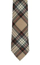 Camel Stewart Modern Tartan Tie - Made in the UK (6-W109/32)