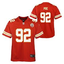 25bb807f30e Nike NFL Kansas City Chiefs Dontari Poe Youth Jersey, Size XL - Red