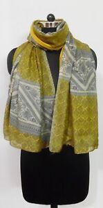 Lightweight Floral Print Ladies Summer Scarf Boho Shawl Wrap Hijab UK *Seller*