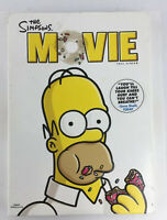 The Simpsons Movie DVD 2007 Full Frame With Slip Cover Complete FREE SHIPPING