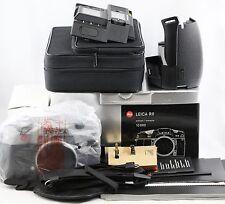 *MINT* Leica Digital Modul R + Leica R9 grey antracite 35mm SLR film Camera