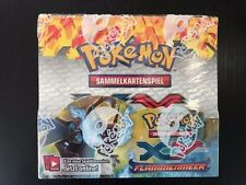Pokemon TCG XY Flammenmeer Booster Box, Display selten (rare), deutsch OVP!