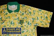 Norwich City RIBERO 1992-1994 Home Football Shirt XLARGE