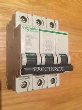 SCHNEIDER ELECTRIC 63A 30MA RCBO C60HB363 415V 3 polos 25876 Reja de desminado Tipo B