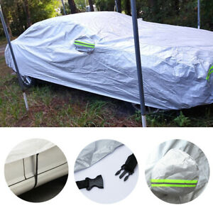 For KIA Optima Full Car Cover Outdoor Weatherproof UV Dust Wind Proof Reflective