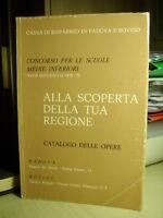 ALLA SCOPERTA DELLA TUA REGIOME Cassa di Risparmio di Padova e Rovigo   1976