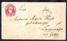 9080 Germany(Saksia),used 1 Neugroshen cover Nr: 8a with 2 mail-van cancels