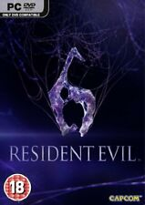 Resident Evil 6 (PC DVD) (New) - (Free Postage)